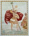 Globasnitz Pfarrkirche Mariae Himmelfahrt Christopherus-Fresko 02052015 0859.jpg