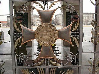Virtuti Militari - Order Wojenny Virtuti Militari Tomb of the Unknown Soldier, Warsaw