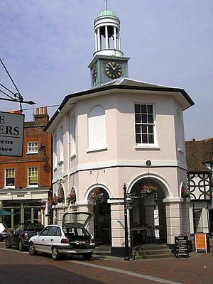 Godalming - The Pepperpot, Godalming's former town hall