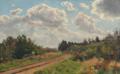 Godfred Christensen - Fra Gribskovbanen - 1920.png