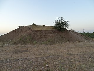 Gohilwad Timbo ancient site in Gujarat, India