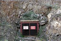 The entrance to an underground gold mine in Victoria, Australia