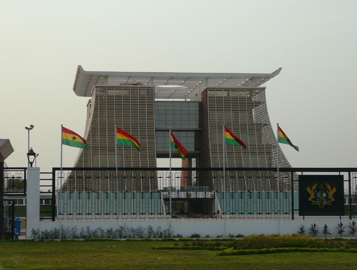 Image result for ghana government building