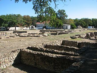 Anapa - The archaeological site of Gorgippia