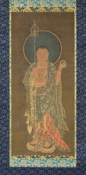 Kshitigarbha - Ksitigarbha painting, Goryeo, late 14th century