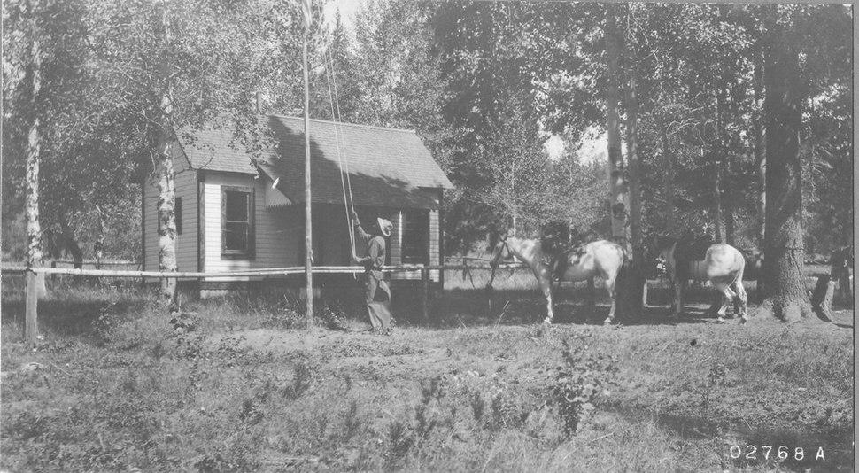 Gotchen Creek Guard Station