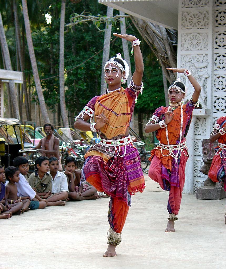 Gotipua Dance. Raghurajpur Heritage Village