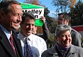 Governor O'Malley with Attorney General Doug Gansler and Delegate Bonnie Cullison (5140789097).jpg