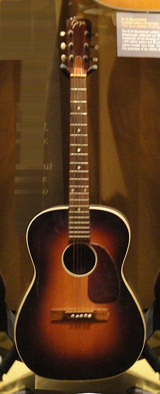 Levin (guitar company) - Image: Goya guitar C.F.Martin Tour 24 (clip)