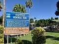 Graceville Memorial Park name board.jpg