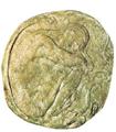 Gran medallón con figura, Francisco Durrio.PNG