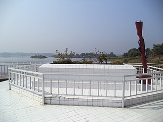 Munshi Abdur Rouf - Grave of Shahid Lance Naik Munshi Abdur Rouf Bir Shreshtho at Burighat, Naniarchar, Rangamati