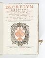 """Graverat titelblad till """"Kanonisk rätt"""". från 1605 - Skoklosters slott - 93239.tif"""