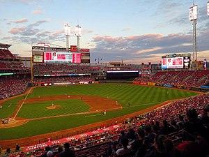 Sports in Ohio - Great American Ball Park, home of the Cincinnati Reds baseball team
