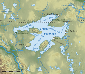 Great Bear Lake - Great Bear Lake, Northwest Territories
