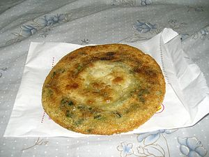 Cong you bing - Scallion pancake