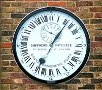 Clock in the Royal Observatory, Greenwich, UK