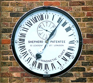 Shepherd Gate Clock - Shepherd Gate Clock at Royal Greenwich Observatory