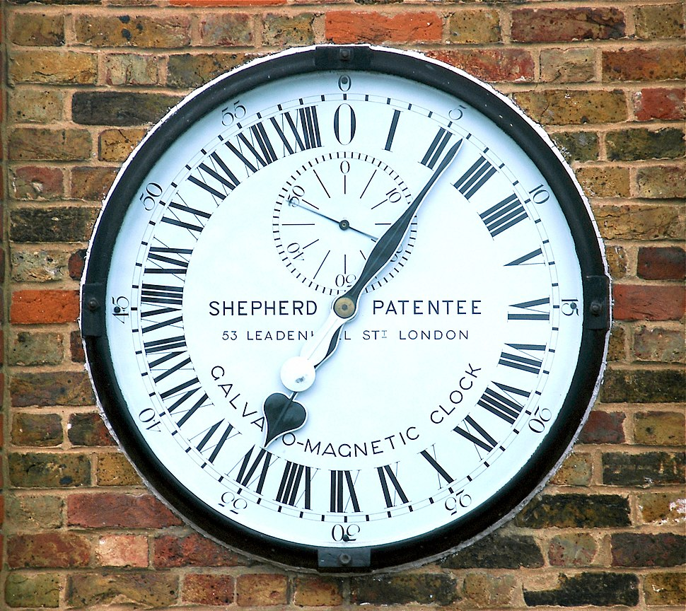 Greenwich clock 1-manipulated