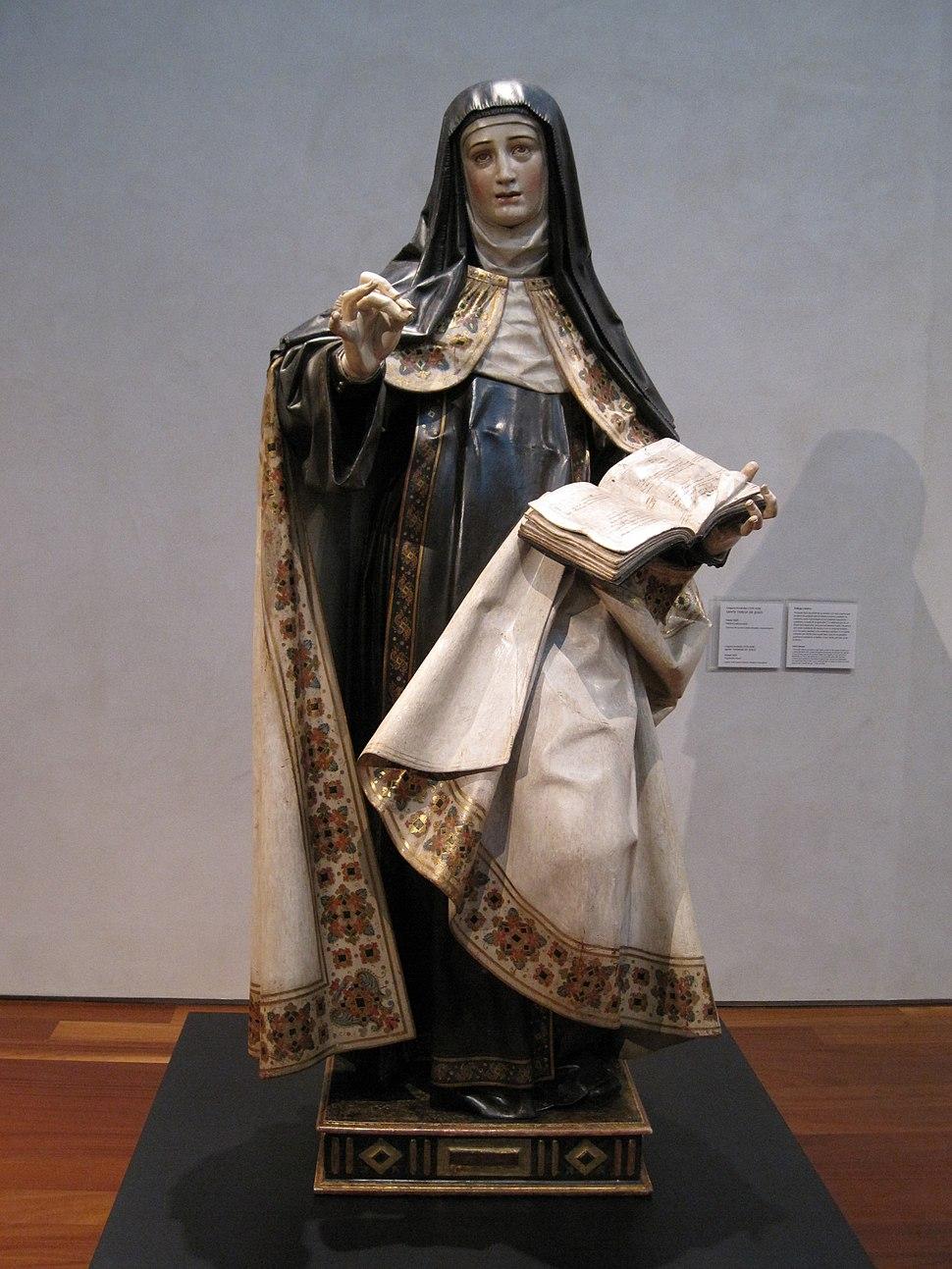 Gregorio Fernández, Santa Teresa de Jesús, 1625