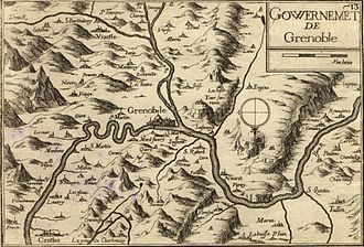 Dauphiné - Dauphiné circa 1638