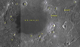 Grimaldi sattelite craters map.jpg