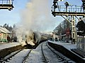 Grosmont Station in Winter - geograph.org.uk - 223993.jpg