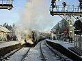 Grosmont Station in Winter - geograph.org.uk - 223993.jpg