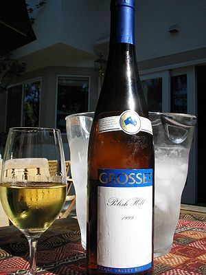 Grosset Wines - A bottle of Grosset Polish Hill Riesling