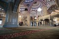 Grozny, Russia, Akhmad Kadyrov Mosque, Interiors, Praying.jpg