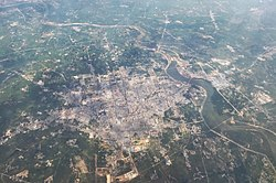 Guangshan County aerial view.jpg