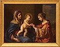 Guercino, sposalizio mistico di santa caterina, 1650, 01.jpg