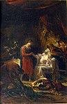 Guillon-Lethiere, Guillaume - Saint Louis visitant les victimes de la peste dans la plaine de Carthage - 1822.jpg