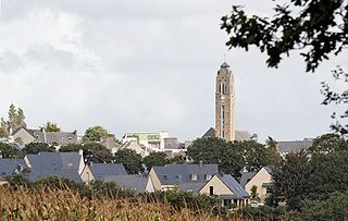 Guipavas Commune in Brittany, France
