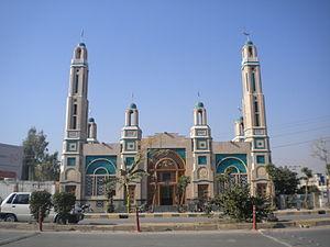 English: Gulshan Dadan Khan Mosque Murree Road...