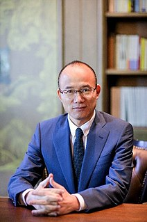 Guo Guangchang Chinese businessman and investor (born 1967)