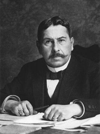 Gustav Ritter von Kahr - Image: Gustav Ritter von Kahr (1920)