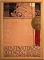 Gustav klimt, manifesto per la I kunstausstellung secession, vienna 1898, litografia, 01.jpg