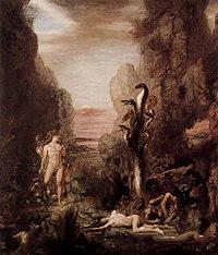 Hercule et l'hydre de Lerne, par Gustave Moreau (1876)