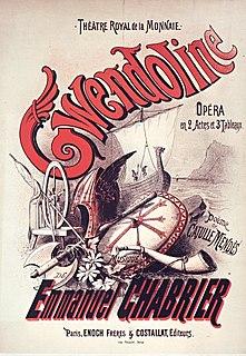 <i>Gwendoline</i> (opera) 1886 opera by Emmanuel Chabrier