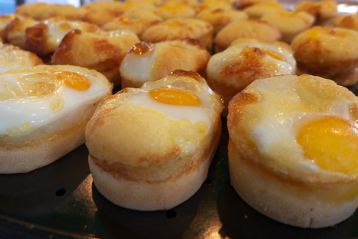 Korean Egg Cake
