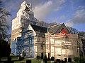 Håstads kyrka, under renovering.jpg