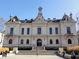 Oullins - The town hall in Oullins