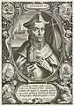 H. Norbertus van Maagdenburg S. Norbertvs (titel op object) Stichters van de religieuze orden (serietitel), RP-P-1926-695.jpg