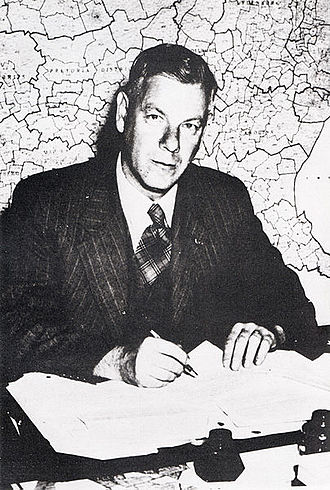 South African republic referendum, 1960 - Hendrik Verwoerd, editor of Die Transvaler and later Prime Minister of South Africa 1958-1966