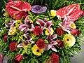 HKCL 銅鑼灣 CWB 香港中央圖書館 Exhibition flowers sign December 2018 SSG 09.jpg