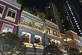 HK 灣仔 Wan Chai 利東街 Lee Tung The Avenue night facade lighting October 2017 IX1.jpg