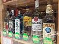 HK 西營盤 Sai Ying Pun 皇后大道西 Queen's Road West Sept 2018 Soho Wine shop White Rum Rico Bay Superior Gordon's Bacardi Bombay Shapphire Jose Cuervo.jpg