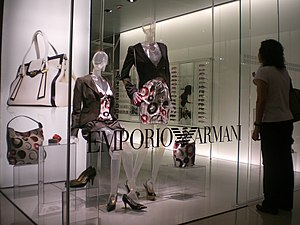 Clothes by Emporio Armani, one of the most lux...