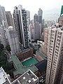 HK ML 半山區 Mid-levels 漢寧頓道 Honiton Road 80 Bonham Road FV 禮賢閣 29 B2 Rhine Court view nearby January 2016 DSC 23.jpg